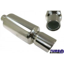 Sport kipufogó dob TurboWorks 64 3'' 76mm be 120mm ki